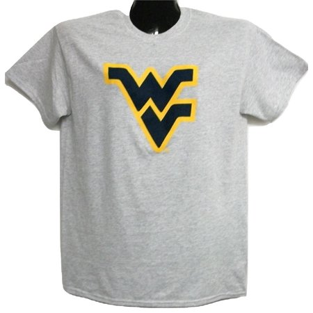 West Virginia Mountaineer's Flying WV Light Grey Tee-shirt XXL