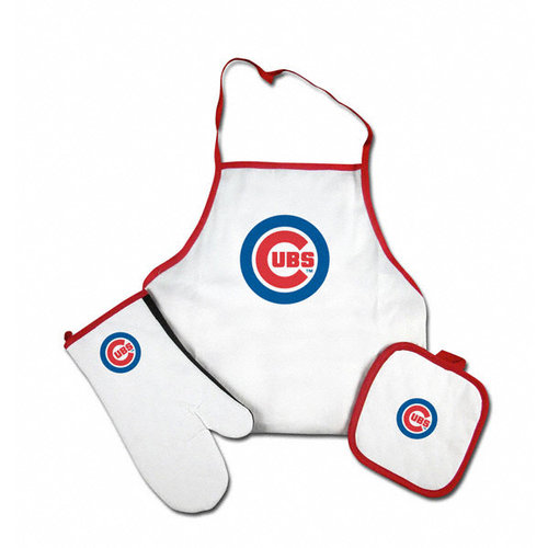 MLB - Chicago Cubs Tailgate & Kitchen Grill Combo Set
