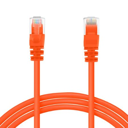 GearIt Cat5e Cat 5 Ethernet Patch Cable 7 Feet - Snagless RJ45 Computer LAN Network Cord [Lifetime Warranty]