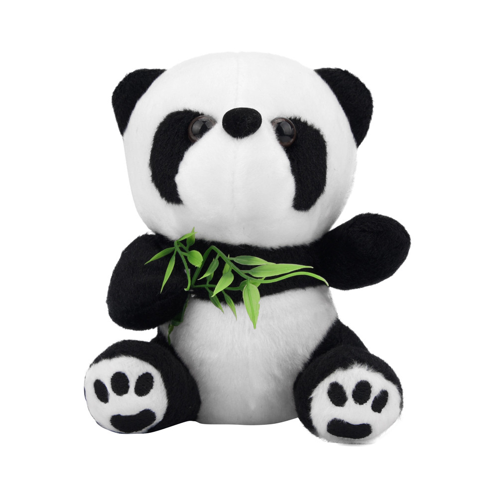 Outtop Baby Kid Child Cute Soft Stuffed Panda Soft Animal Doll Toy Gift 16cm