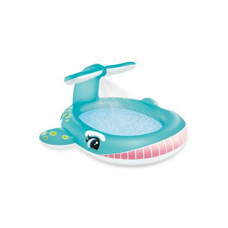 Intex Whale Spray Kiddie Swimming Pool