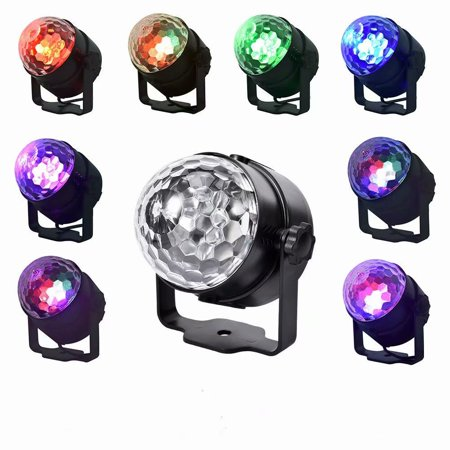 LED Stage Light,15 Colors DJ Club Disco KTV Party Bar RGB LED Ball Laser Projector Stage