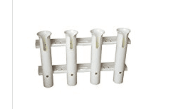 BroCraft Tackle Rack Fishing Rod Holder Rod White by