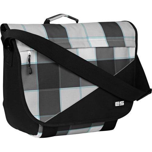 Eastsport Plaid Messenger Bag
