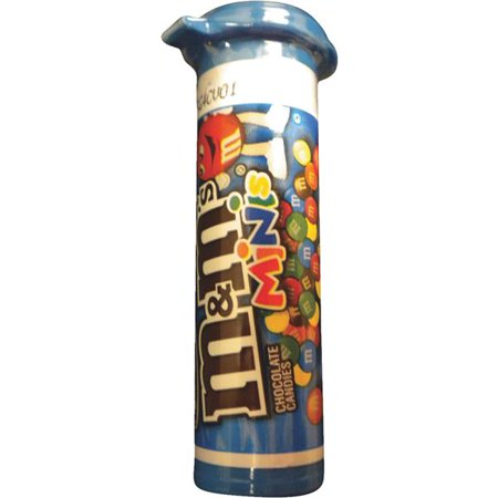 Liberty Distribution Tube Mini M&m's 3231 Pack of 24 - Pink Mini M&ms