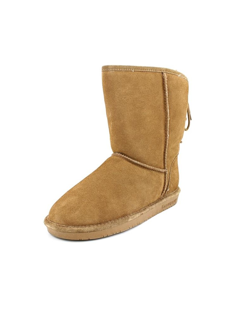 Bearpaw Elizabeth Women Round Toe Suede Brown Winter Boot by Bearpaw