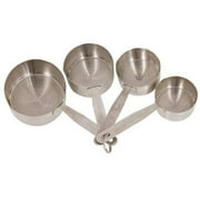 CRESTWARE MEACP Measuring Cup Set, 1/4, 1/3, 1/2, and 1 Cup