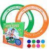 Best Kids Ring Frisbees [Green/Orange] Play Ultimate Toss Games with Friends and Family Outdoors - Indoor Gym Flying Disc Toys for Top Frisby Golf - Sports Christmas Gifts & Birthday Presents Frisbie
