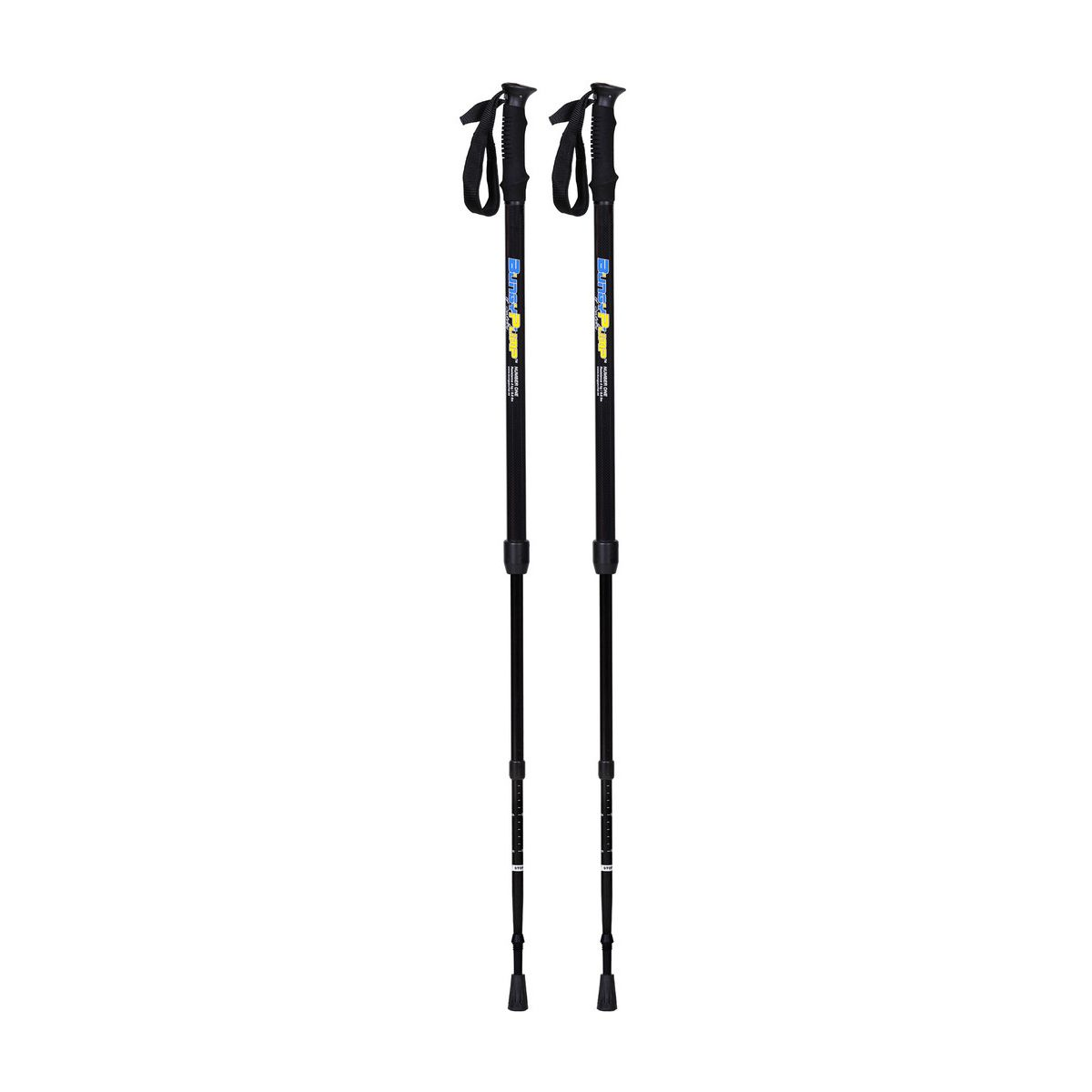 Click here to buy BungyPump Number One Fitness Walking Poles with 8.8 pounds of Built-in Resistance by Sports Progress International AB.