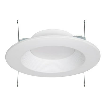 White Recessed Downlight (Maxxima 6 in. Dimmable Recessed LED Downlight, 2700K Warm White, 1000 Lumens )