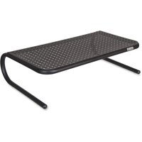 Allsop, ASP30336, Large Metal Monitor Stand, 1 Each, Black
