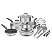 Cuisinart 12-Piece Stainless Steel Cookware Set (P87-12)
