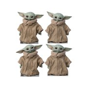 The Child (Set of 4) Life Size Cardboard Cutout Stand Up - Disney's Star Wars: The Mandalorian