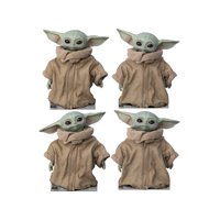 """The Child from Mandalorian, Advanced Graphics Standups, Set of 4 each one 18"""" x 15"""""""