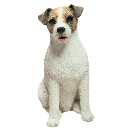 Sandicast Mid Size Brown/White Jack Russell Terrier Sculpture