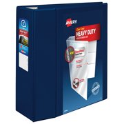 "Avery 5"" Heavy Duty View Binder, One Touch EZD Ring, Navy, 1050 Sheets"