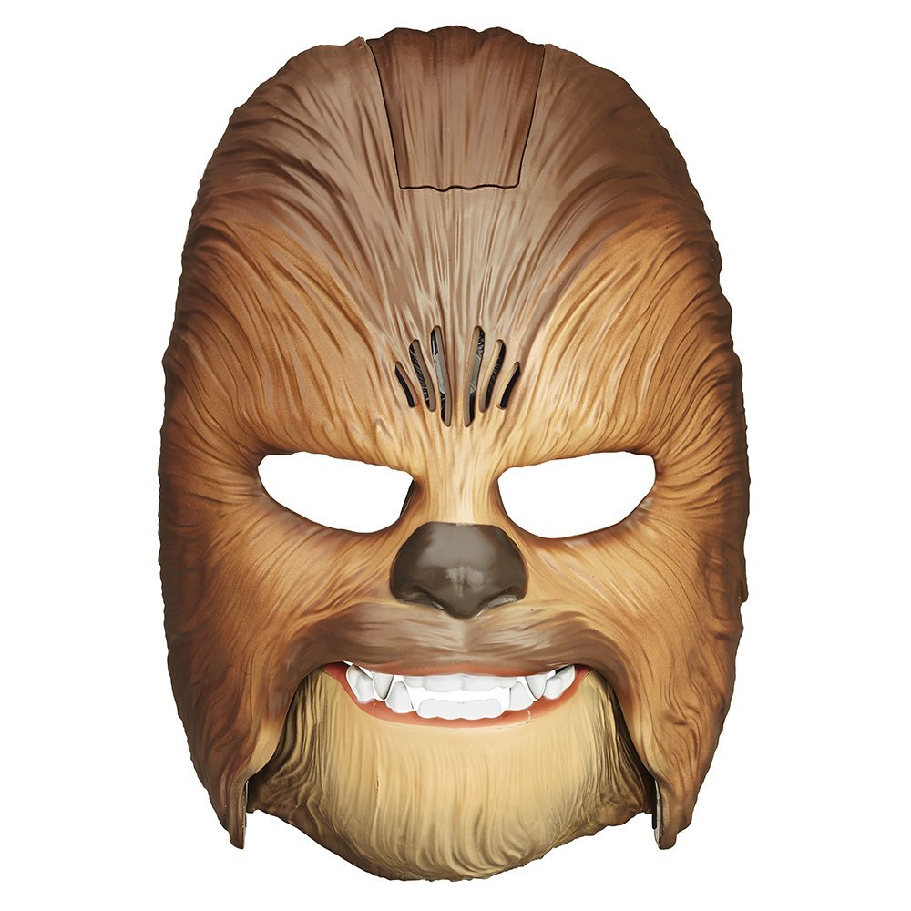 Star Wars The Force Awakens Chewbacca Electronic Mask, Size 75169 Black Ray NERF Chewbacca... by