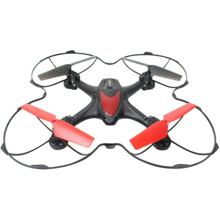 Wondertech Nebula 2 4Ghz 6 Axis Gyro Quadcopter Drone With Hd Fpv Real Time Live Video Feed Camera  Black