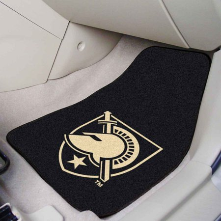 US Military Academy 2-pc Carpeted Car Mats 17 Inches x 27 Inches