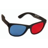 ProView(tm) 3D Glasses for Polar Express - Upscale Red/Cyan 3D Glasses - Also works with The Final Destination and Call of the Wild 3D, GLASSES.., By 3D Glasses Direct