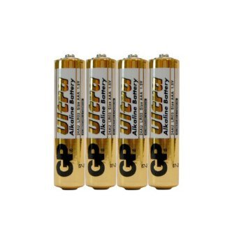 Streamlight Stylus Pro Led - Four AAA Alkaline Batteries for Streamlight Enduro LED Headlamps and Stylus Pro Flashlights