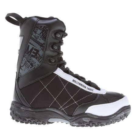 M3 Militia Jr. Snowboard Boots Black/White Kids