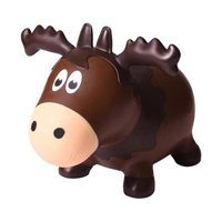 Wildlife Hoppers Inflatable Bouncing Moose