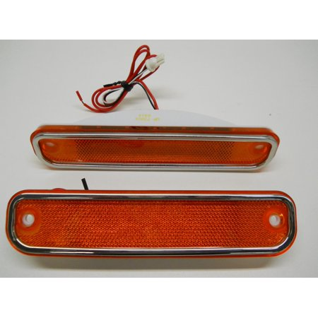 76 77 Gmc Jimmy - 1973 74 75 76 77 78 79 80 GMC Chevy Truck Amber LED Clearance Side Marker Lights