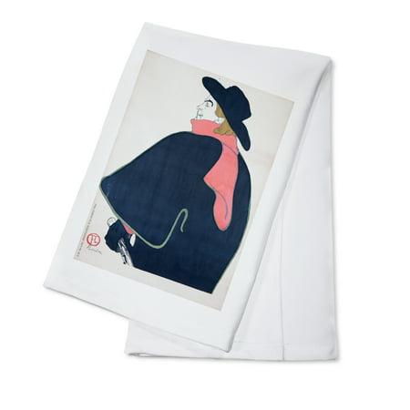 Eldorado   Aristide Bruant Vintage Poster  Artist  Toulouse Lautrec  Henri De  France C  1892  100  Cotton Kitchen Towel
