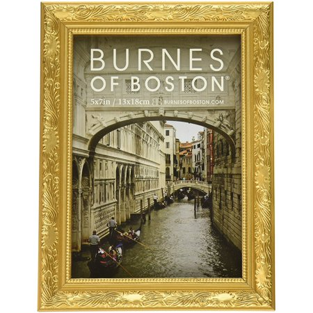 Burnes of Boston 266457 Windsor Leaves Picture Frame, 5-Inch by 7-Inch, (Best Way To Burn Leaves)