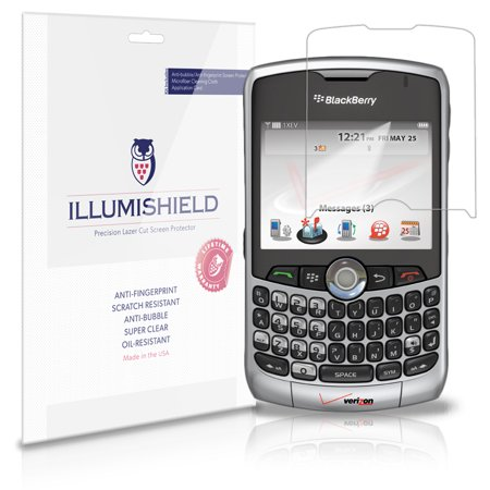 iLLumiShield Anti-Bubble/Print Screen Protector 3x for BlackBerry Curve 8330 Blackberry Curve 8330 Faceplate