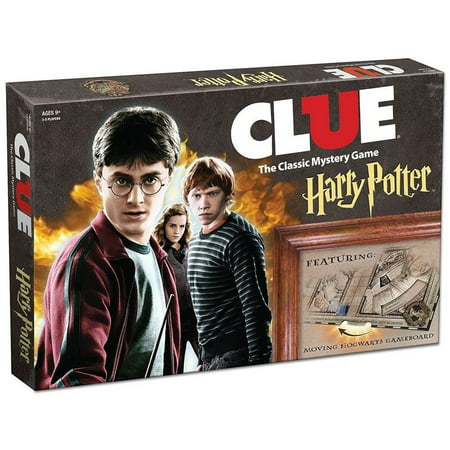USAopoly Clue Harry Potter Board Game | Official Harry Potter Licensed Merchandise | Harry Potter Themed Board Game | Great Gift for Any Harry Potter Fan | Harry Potter Movie Artwork](Halloween Themed Games For The Gym)