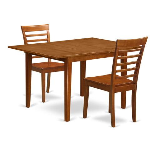 Alcott Hill Lorelai 3 Piece Dining Set