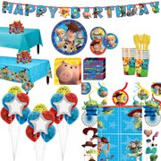 Party City Super Toy Story 4 Party Supplies for 16 Guests
