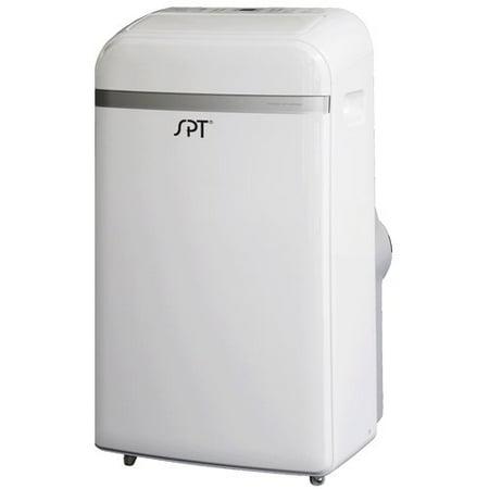 Sunpentown 12,000 BTU Portable Air Conditioner Dual-Hose System, White, WA-1351DE