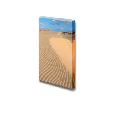 Beautiful Scenery Landscape Waves on Sand Dunes in the Desert - Canvas Art Wall Decor - 48