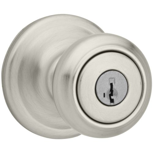 Kwikset 740CN-S Cameron Keyed Entry Door Knob Set with SmartKey