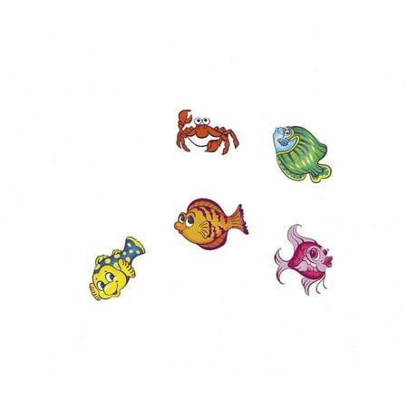 Tropical Fish Tattoos (6 dz), Tropical Fish Tattoos By Fun Express