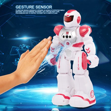 Smart Intelligent Robot Educational RC Toy Programmable Gesture Sensor Music Dance for Kids