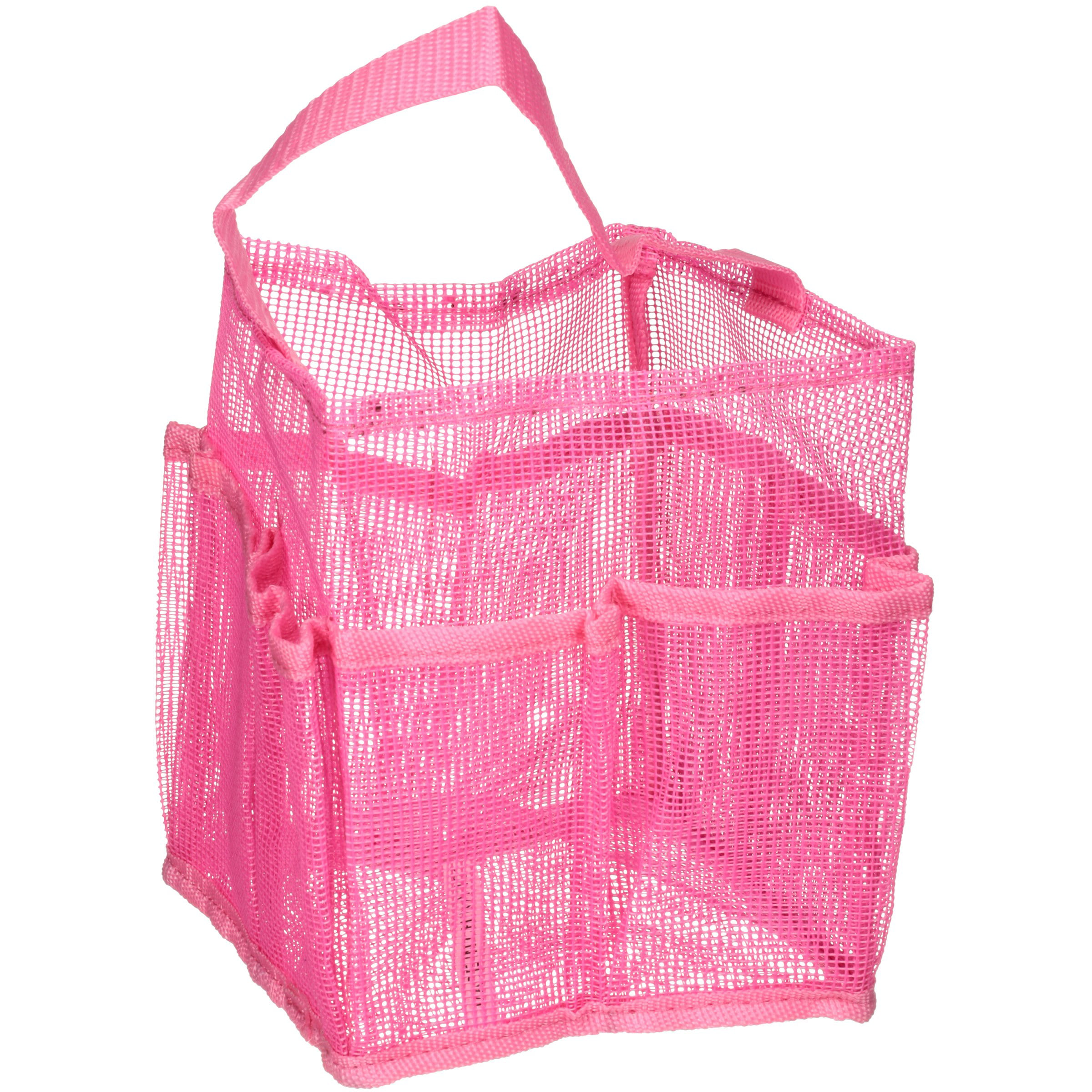 Mainstays Pink Mesh Shower Caddy by Ginsey