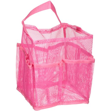Mainstays™ Pink Mesh Shower Caddy - Walmart.com