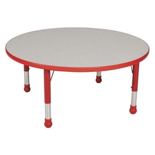 Brite Kids 48 x 48 in. Adjustable Round Table