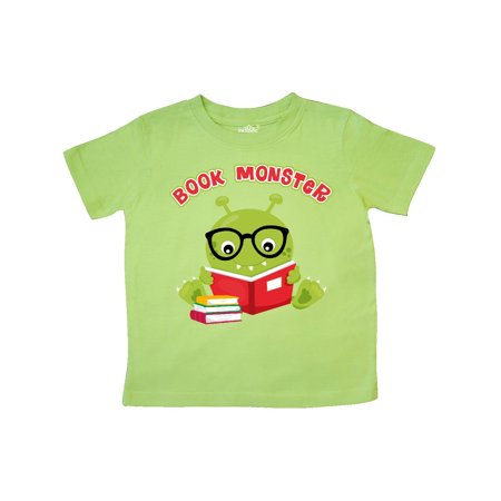 Book Monster Boy Toddler T-Shirt - Purple Bow Meaning