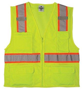 ML Kishigo 1195 Solid Front with Mesh Back Vest