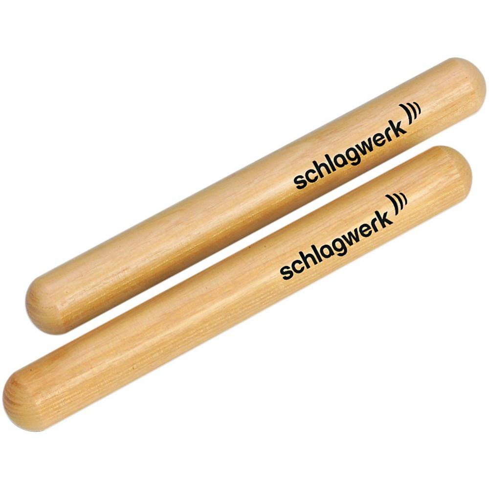 SCHLAGWERK Acacia Wood Claves
