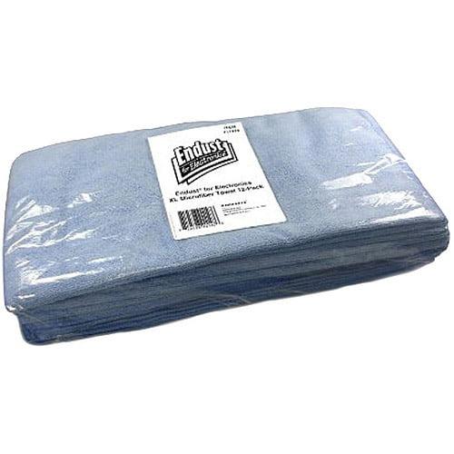 Norazza Endust Microfiber Towel, 12pk