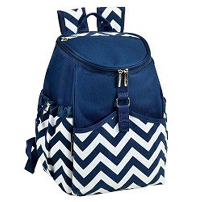 Picnicat Ascot 537-SCB Cooler Backpack - Blue Red