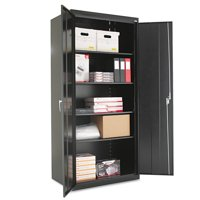 Product Image Alera Embled 78 High Storage Cabinet W Adjule Shelves 36w X 24d