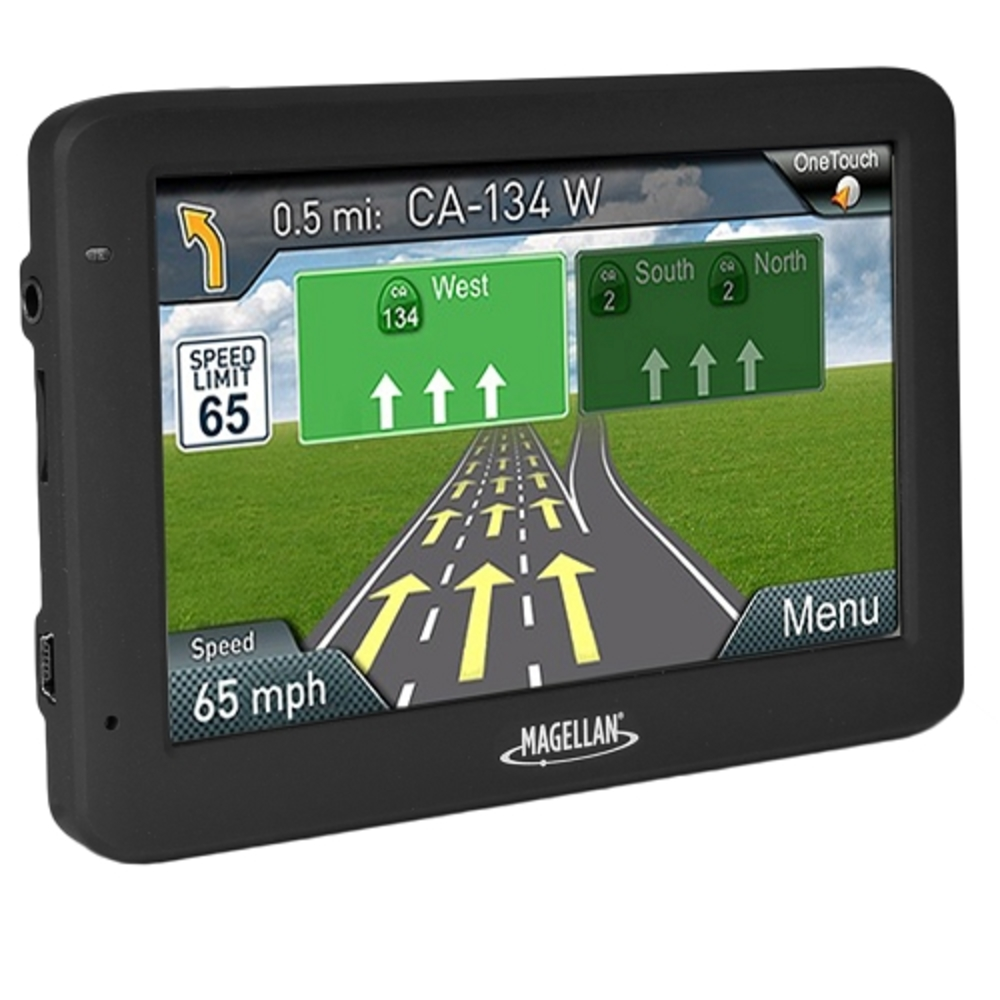 Magellan RoadMate 5520-LM 5.0 Touchscreen Portable GPS System w/North American Maps & Free Lifetime Map Updates