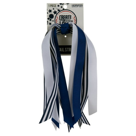 Blue Streamers ((4 Pack) Pony Tail Streamer)